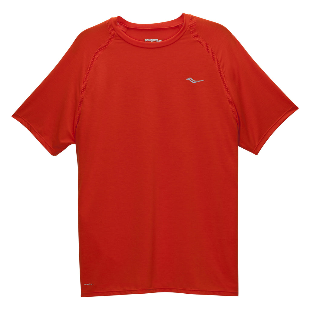 T-shirt sport homme Saucony Freedom tangelo