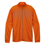 Manteau de course à pied homme Saucony Reflex orange vue face