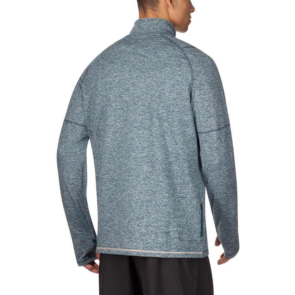 Chandail de course à pied homme Saucony Run Strong men's long sleeve sportop Soccer Sport Fitness