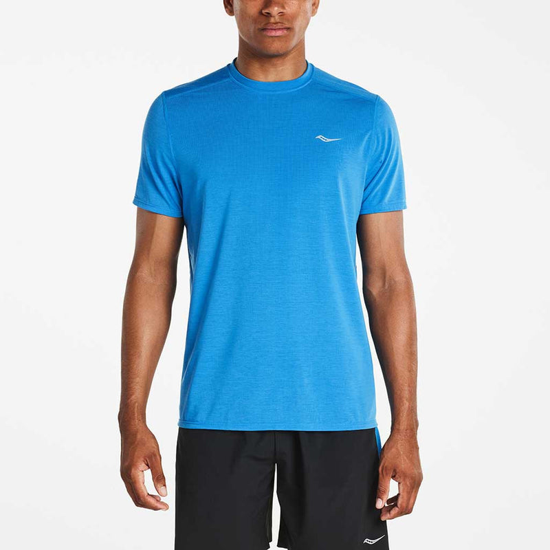 Saucony Freedom T-shirt sport homme citron