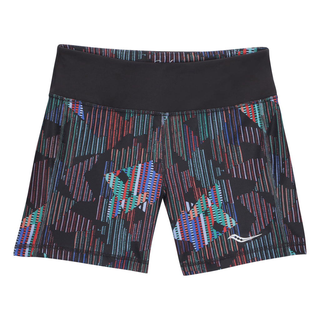 Short de course à pied femme multiprint