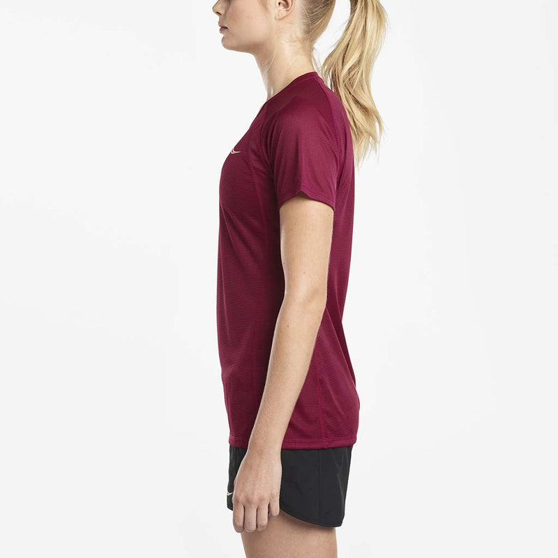 Saucony Hydralite women's running t-shirt red lv
