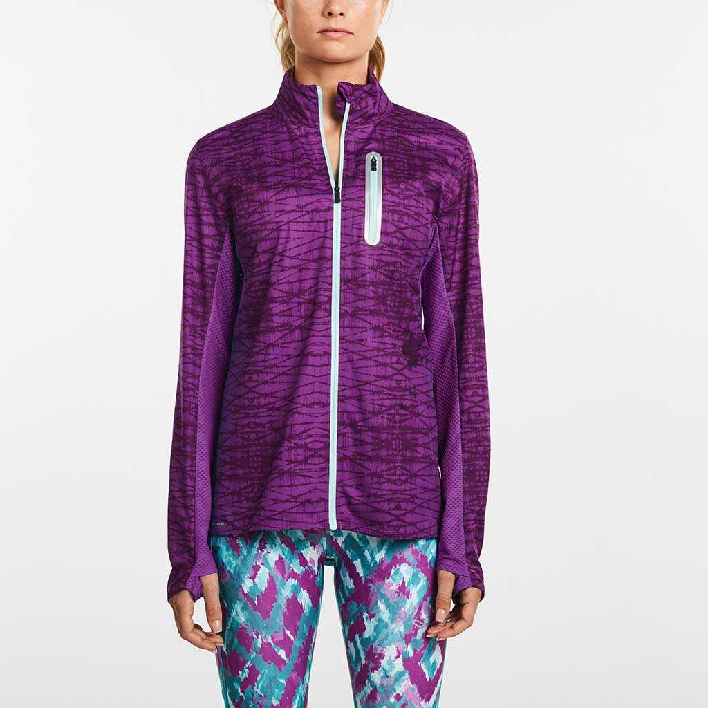 Saucony Speed of Lite women's running jacket dhalia Soccer Sport Fitness