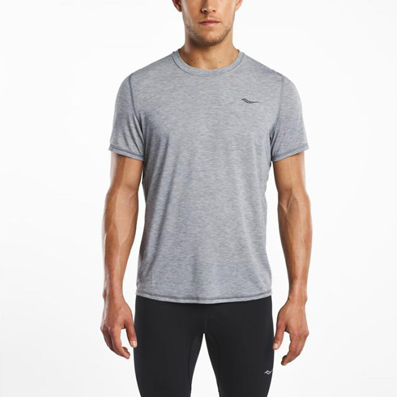 Saucony Freedom running t-shirt grey