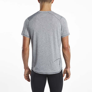 Saucony Freedom running t-shirt grey rv