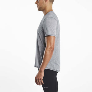 Saucony Freedom running t-shirt grey lv