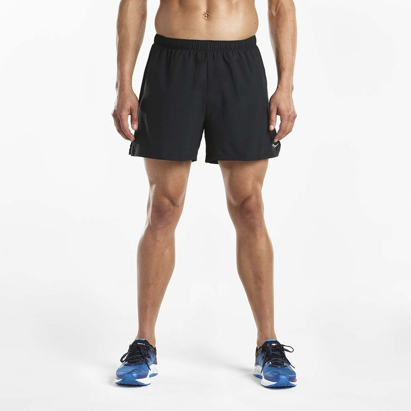 Saucony Throttle men's running shorts black
