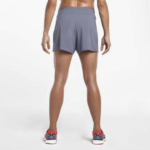 Saucony Tranquil women's running shorts gris rv
