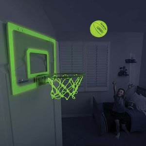 SKLZ Pro Mini-Hoop Midnight panier de basketball fluorescent live nuit