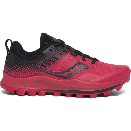 Saucony Peregrine 10 ST barberry black femme