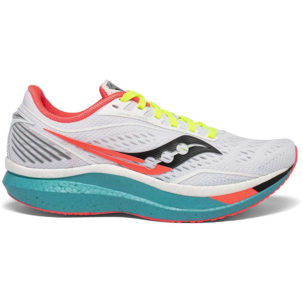 Saucony Endorphin Speed chaussures de course femme  white mutant