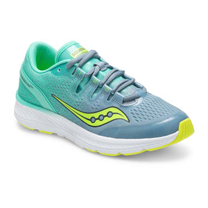 Saucony Freedom Iso kids chaussure de course a pied teal