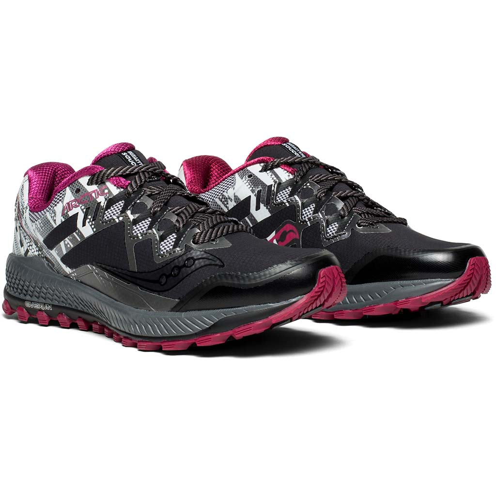 Saucony Peregrine 8 Ice+ chaussure de course a pied trail femme pv
