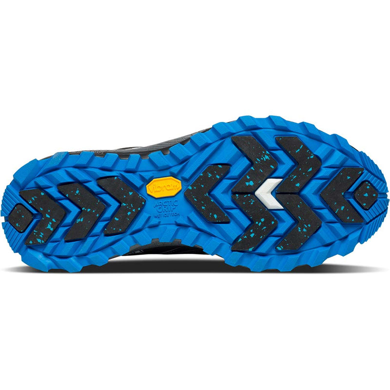 Saucony Peregrine 8 Ice+ chaussure de course a pied trail homme sole view
