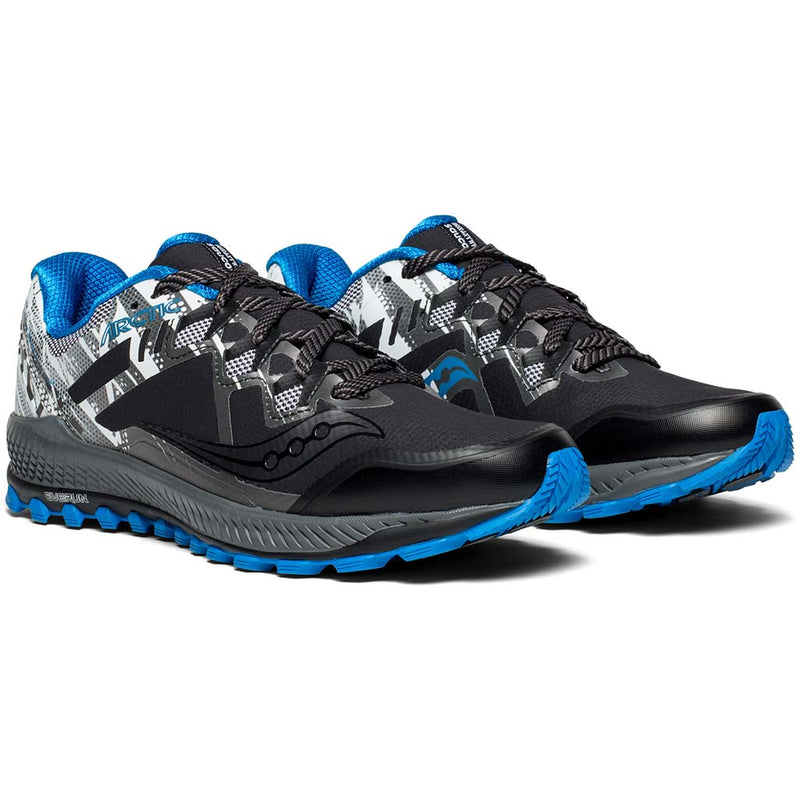 Saucony Peregrine 8 Ice+ chaussure de course a pied trail homme pv
