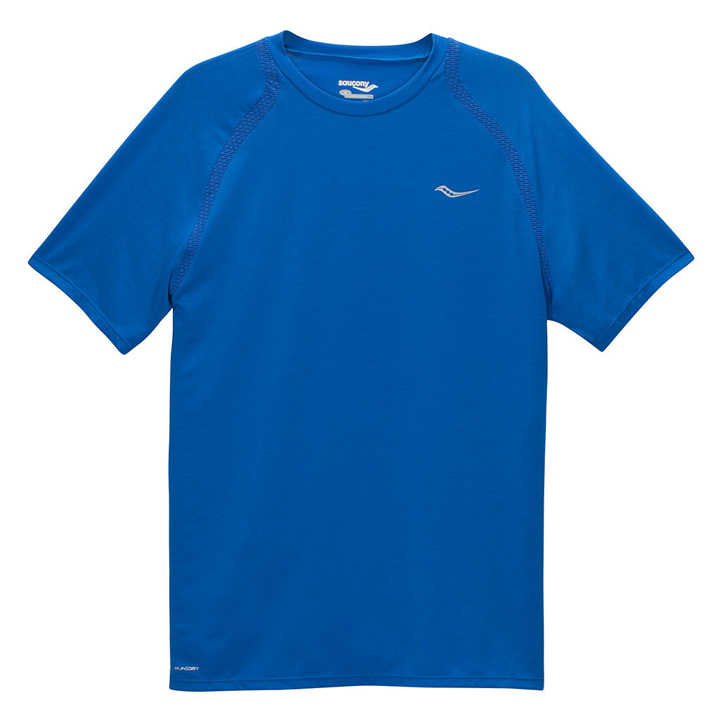 T-shirt sport homme Saucony Freedom men's short sleeve t-shirt Soccer Sport Fitness