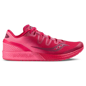 Chaussure de course femme Saucony Freedom Iso berry pink Soccer Sport Fitness