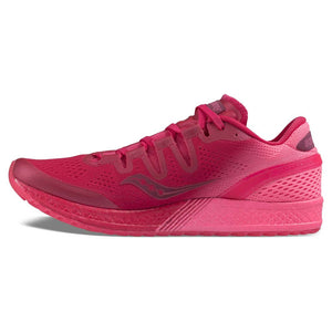Chaussure de course femme Saucony Freedom Iso berry pink lv Soccer Sport Fitness
