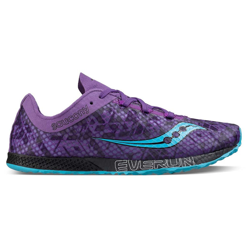 Saucony Endorphin Racer 2 purple teal Soccer Sport Fitness