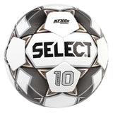Select Sport America Numero 10 soccer ball white black gold