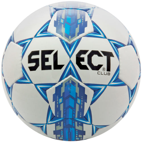 Select Club ballon de soccer bleu blanc