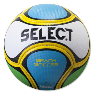 Beach soccer ball Select blanc bleu