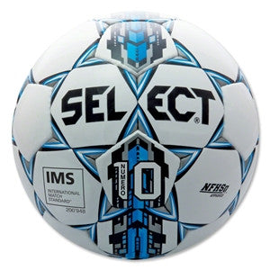 Select Sport America Numero 10 soccer ball white blue