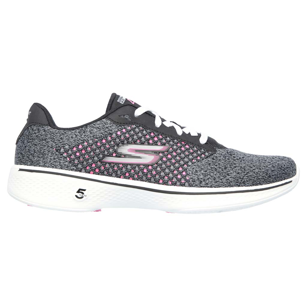 Skechers Go Walk 4 Exceed women's shoes grey pink