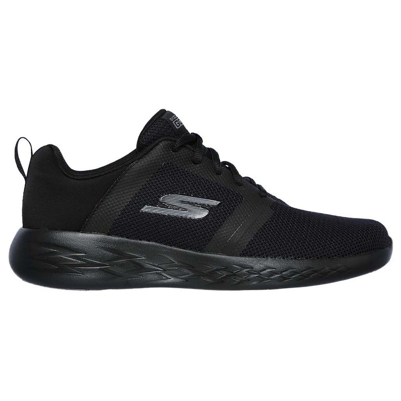 Skechers Go Run 600 Revel  men's light trainer shoe black sv
