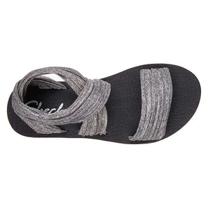 Skechers Meditation Still Sky sandals grey uv