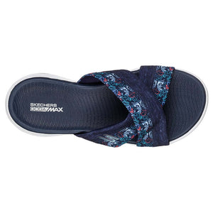 Skechers On the Go 600 Monarch Navy sandales pour femme uv