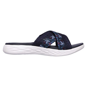 Skechers On the Go 600 Monarch Navy sandales pour femme lv2