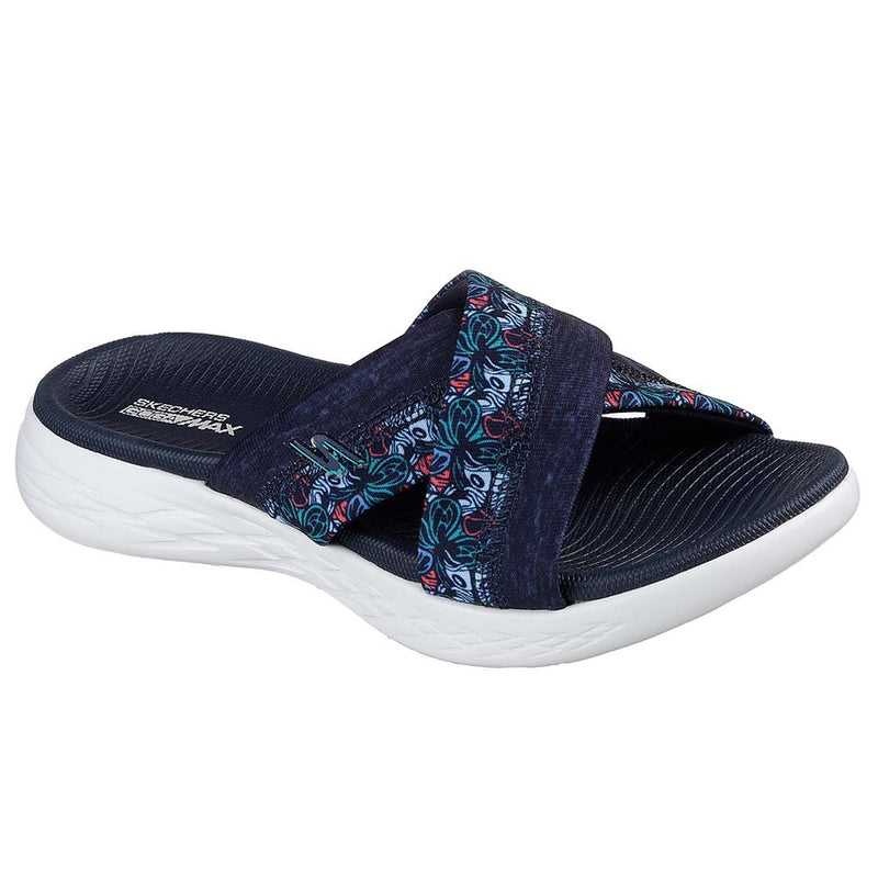 Skechers On the Go 600 Monarch Navy sandales pour femme