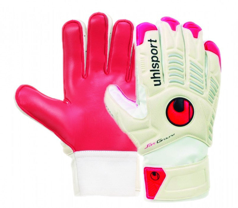 Uhlsport Ergonomic Soft Training gants de gardien de but de soccer