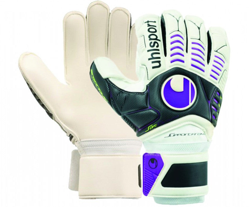 Gants de gardien Uhlsport Ergonomic Soft SF/C goalkeeper gloves Soccer Sport Fitness