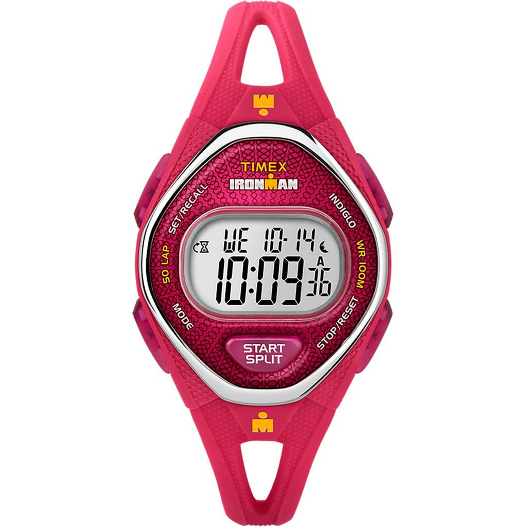 Timex Ironman Sleek 50 mid-size montre de sport rose
