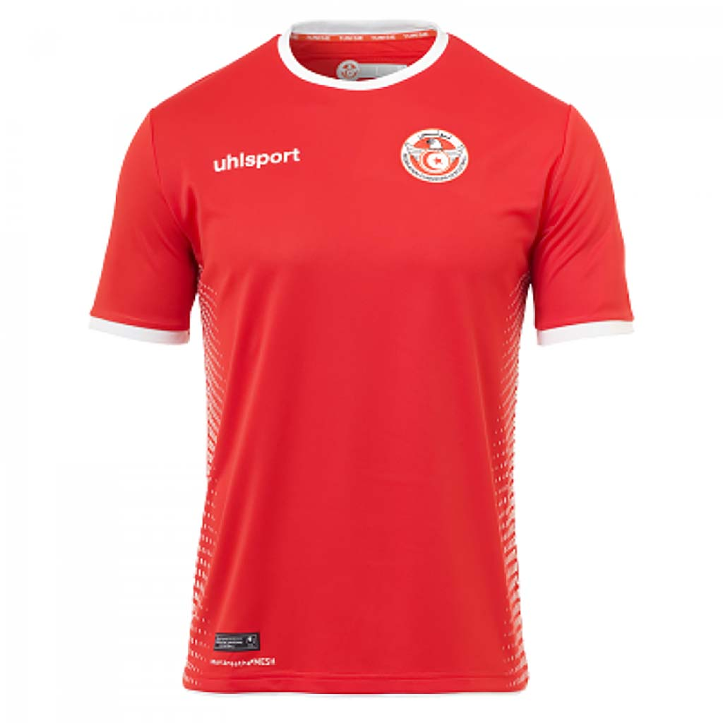 Uhlsport Tunisie maillot coupe du monde 2018 away