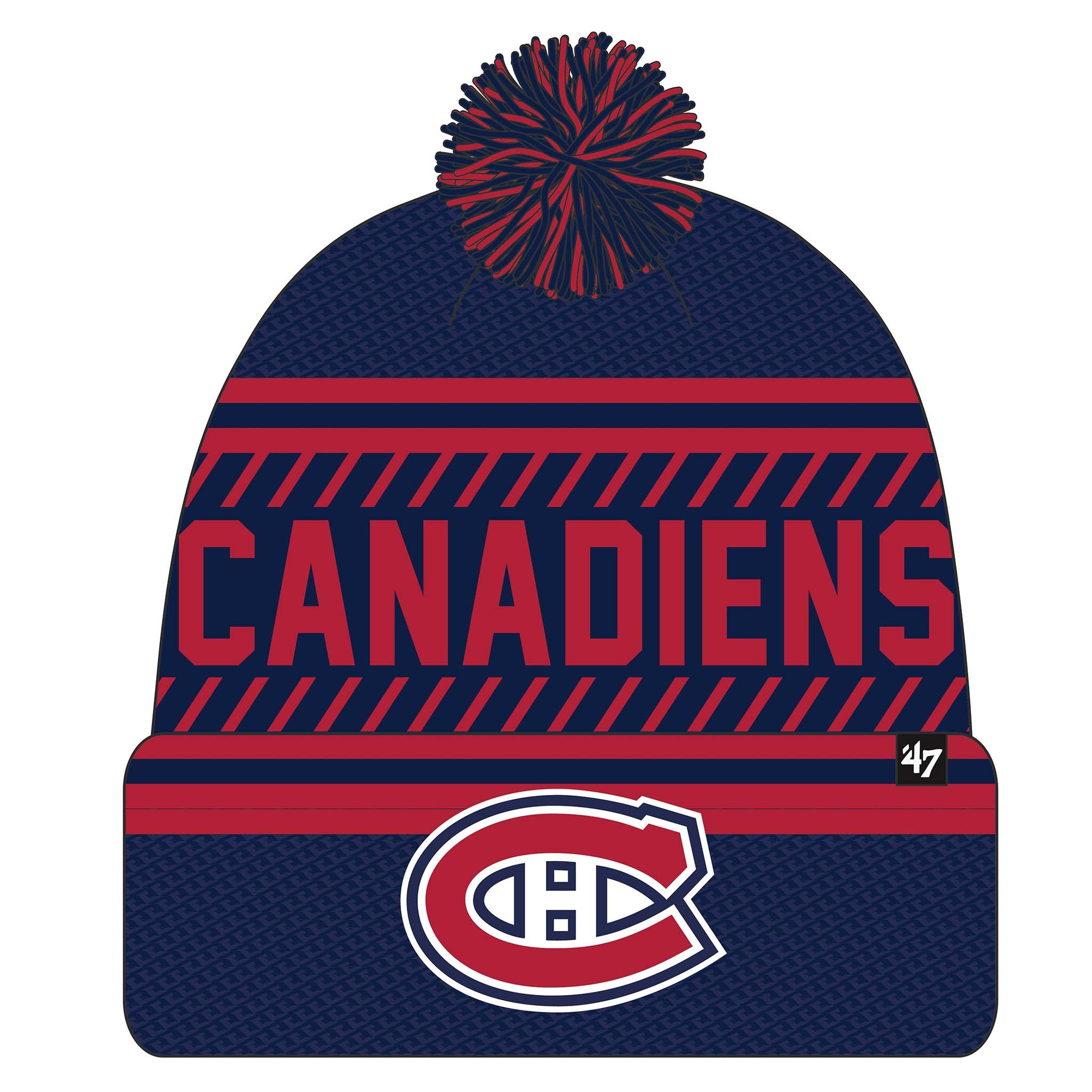Tuque a pompon NHL ICE Canadiens de Montreal LNH 47 Brand