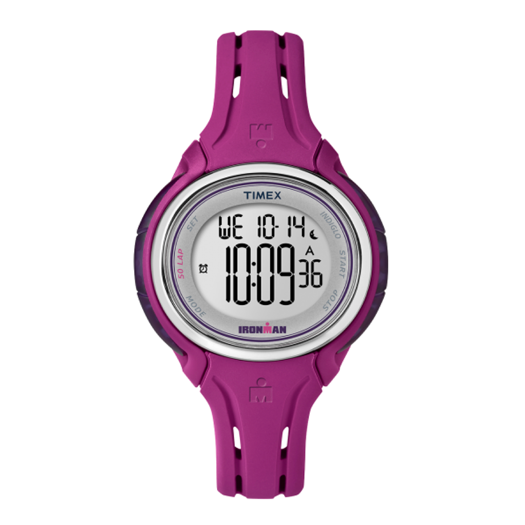 Timex Sleek 50 montre sport  mauve