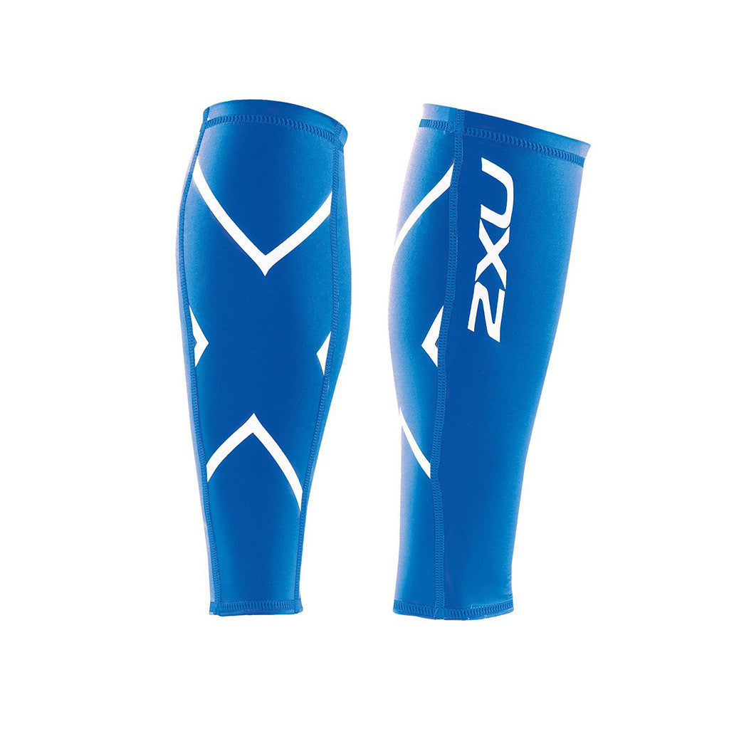 Manchons de compression pour mollets unisexe 2XU unisex compression calf guards Soccer Sport Fitness