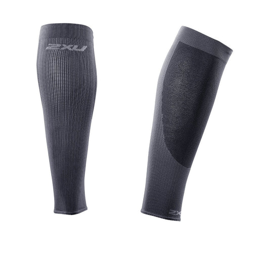 Manchons de compression pour mollets 2XU Performance Run compression calf sleeve Soccer Sport Fitness