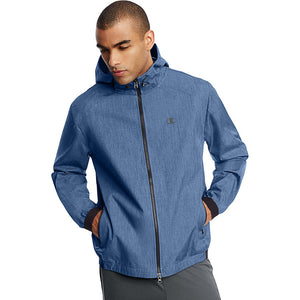 Champion men's woven shell jacket blue