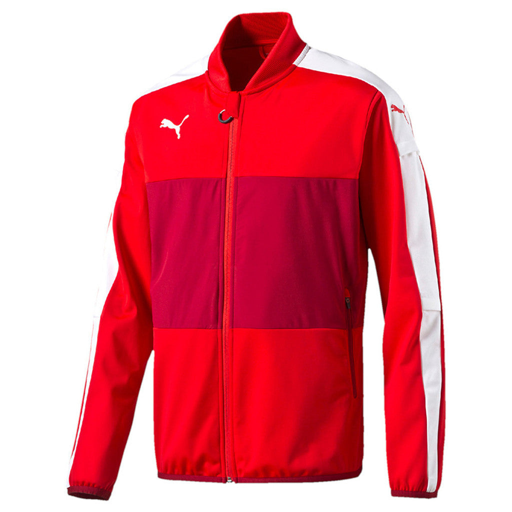 Puma Veloce Stadium Jacket survêtement de soccer rouge