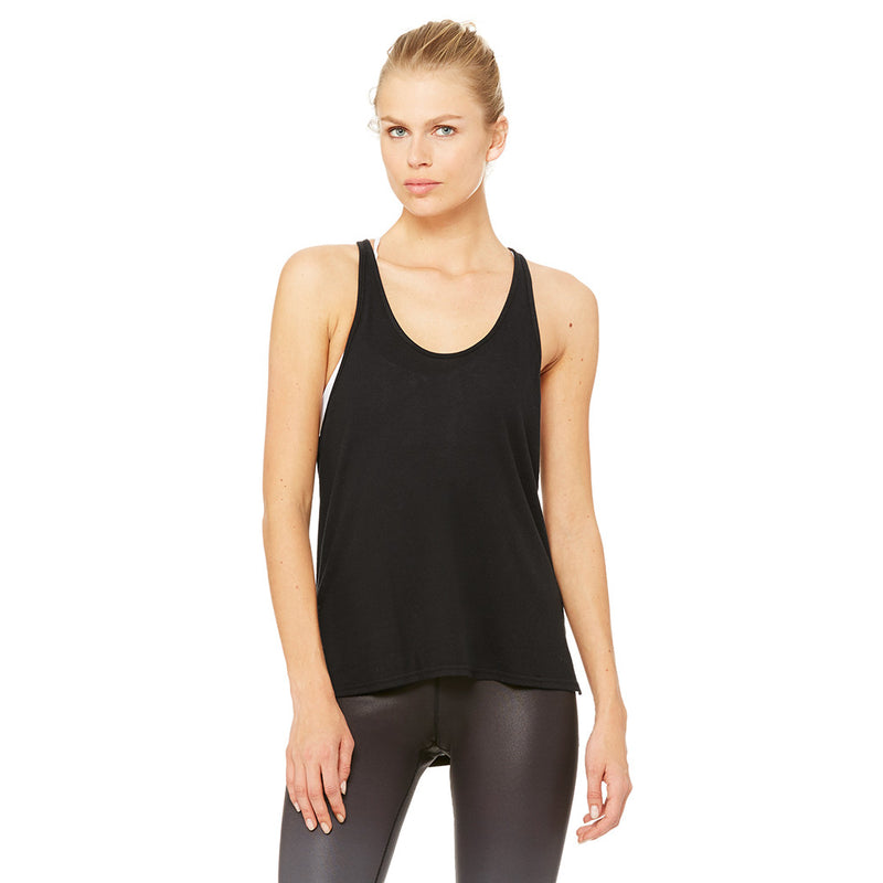 Camisole femme ALO Yoga women's Cozy Tank buff heather vue dos Soccer Sport Fitness