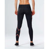 2XU women's mid-rise compression tights black coral rv