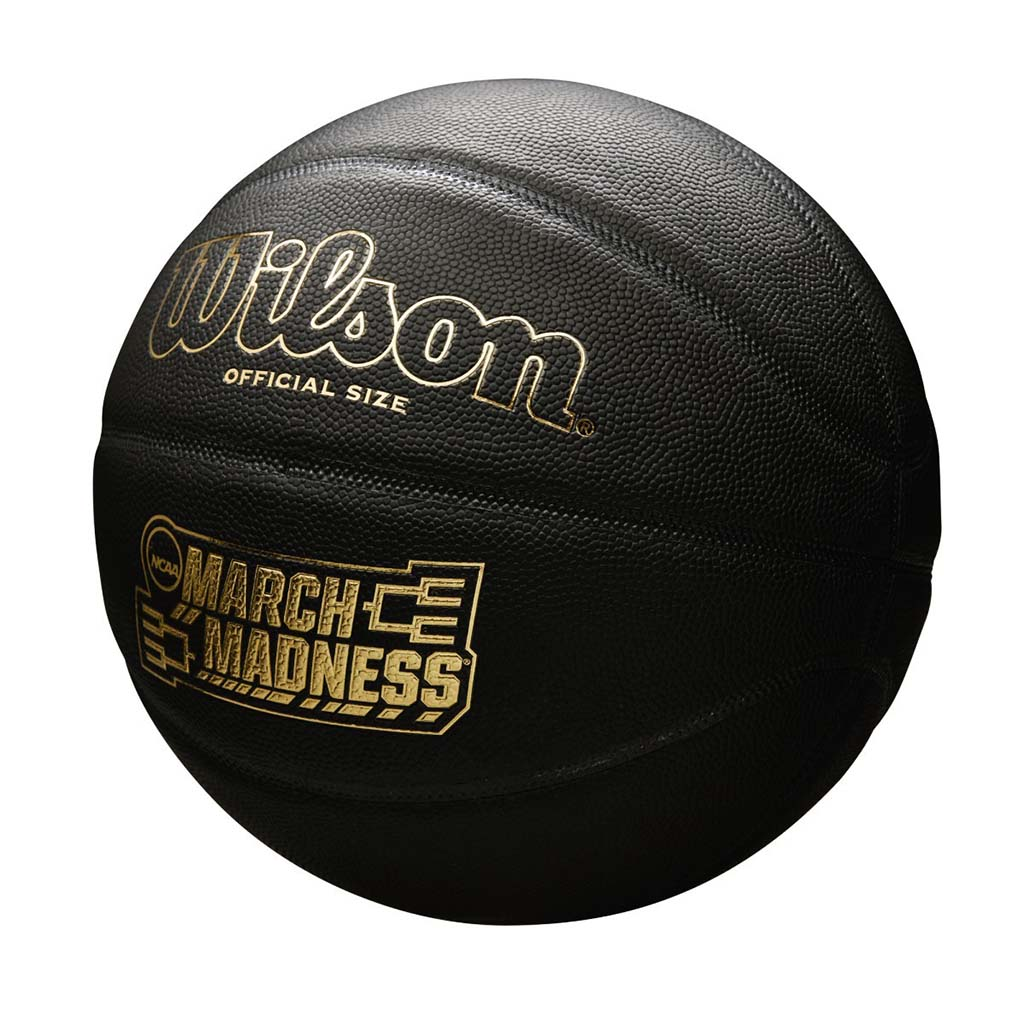 Wilson March Madness ballon de basketball taille officielle noir