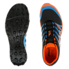 INOV-8 X-Talon 200 trail running shoes grey orange blue pair
