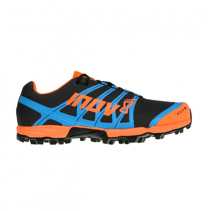 INOV-8 X-Talon 200 trail running shoes grey orange blue uv