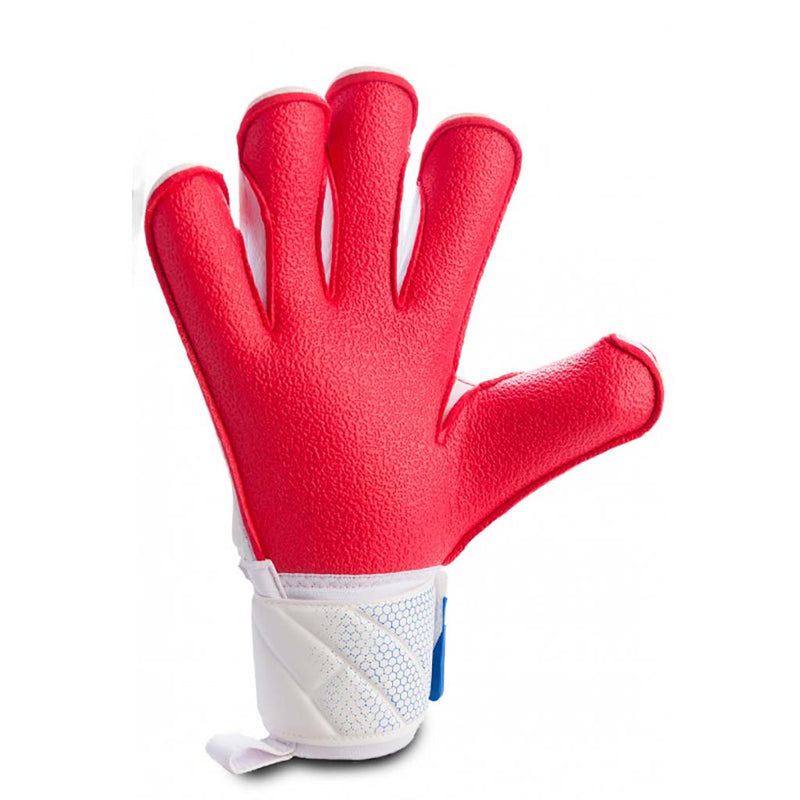 RG Goalkeeper Gloves Aspro Entreno gants de gardien de but vue paume rouge Soccer Sport Fitness