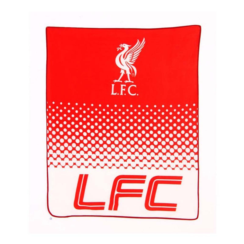 Liverpool FC couverture laine polaire fan de soccer